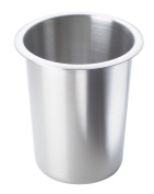 Cal-Mil 1017-Solid Stainless Steel Cylinder