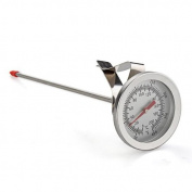 Ecloud ShopUS Stainless Steel Cooking BBQ Meat Probe Thermometer 200°C
