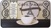 Chef Gear Cafe Paris Faux Leather Anti-Fatigue Cushioned Chef Mat, 46cm by 80cm