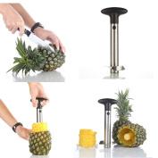 Super Z Outlet® Stainless Steel Pineapple Easy Slicer and De-Corer