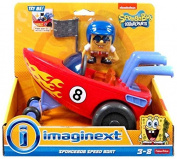 Spongebob Squarepants Imaginext Vehicle Set Spongebob Speed Boat