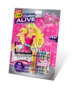 . Colour Alive Crayon - Barbie