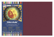 Pacon Tru-Ray Construction Paper, 30cm by 46cm , 50-Count, Burgundy