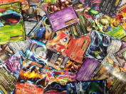 50 Assorted Pokemon Trading Cards w/ FREE EX or Full Art NO DUPLICATES