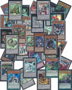YuGiOh Assorted Card Lot - 20 Mint Cards - 10 Rares, 10 Holo