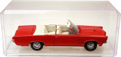 2 Clear Acrylic Display Cases For 1:18 Scale Cars - 33cm x 14cm x 13cm