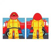 Kreative Kids Boys Girls Fireman Cap Bath Towel One Size