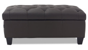 Carson Tufted Contemporary Ottoman