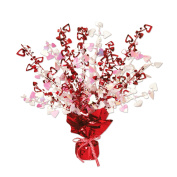 Beistle 70805 Heart Gleam 'N Burst Centrepiece, 38cm , 1 Per Package