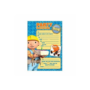 Bob The Builder Paper Invitations - 20 Pack