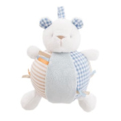 With Love Teddy Chime Ball Blue