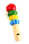 boutique1583 Wooden Children's Whistle Baby Music Enlightenment Toy