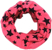 Viskey Children Kids Girls Boys Warmer Pure Colour Scarf , Pink