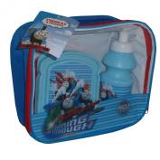 Thomas The Tank Engine 3 Piece School Set - Lunch Bag, Flask, Sandwich Box