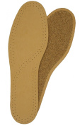 LEATHER & CORK DELUXE INSOLES TAN