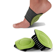 Pro11 wellbeing Foot Arch Angel Supports with Soft Comfort for sore Arches and Feet