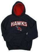 Atlanta Hawks NBA Big Boys Pullover Fleece Hoodie, Navy