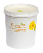 Organic Unrefined Shea Butter, Calendula and Borage Oil for Conditioning Sensitive and Dry Skin Baby Skin Salve Treatment of Eczema Psoriasis and Damaged Skin Supplied Direct by Shea Life Skincare 1 Kg