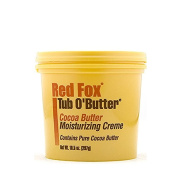Red Fox Tub O Butter Cocoa Butter Moisturising Creme Contains Pure Cocoa Butter For Body 298g