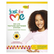 """Just For Me No-Lye Texture Softener System """"Loosen Natural Hair Textures"""" New Look"""