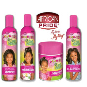 African Pride Dream Kids Olive Miracle Detangling Moisturising set of 4 products