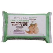 Beaming Baby Organic BabyWipes Unfragranced 72wipes x 1