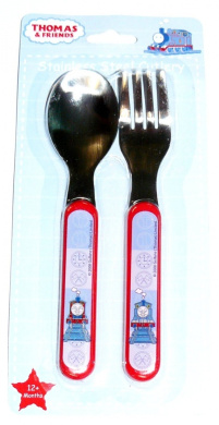 Thomas the tank engine and friends - Stainless cutlery set