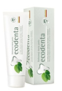 Ecological whitening toothpaste ECODENTA (97% natural) with mint oil, sage extract and Kalident
