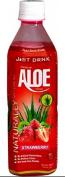 Just Drink Aloe Strawberry 500ml