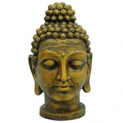 Europalms 75 cm Buddha Head, Antique Gold