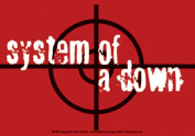 Licences Products System of A Down Target Sticker
