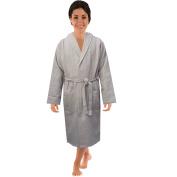 Cotton Waffle weave Spa Bathrobe Shawl Collar for Men Women in 5 colours 100% Soft Cotton bath robe
