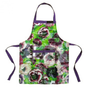 Ragged Rose Gilly PVC Coated Cotton Kids Apron, Purple