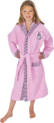 Mauz by Wörner Girls' Bathrobe Pink Pink