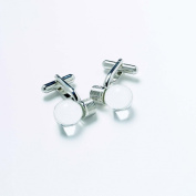 Light Bulb Electrician Design Cufflinks in Gift Box - Onyx-Art London GMC42