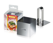 6cm Square Food Ring with Press