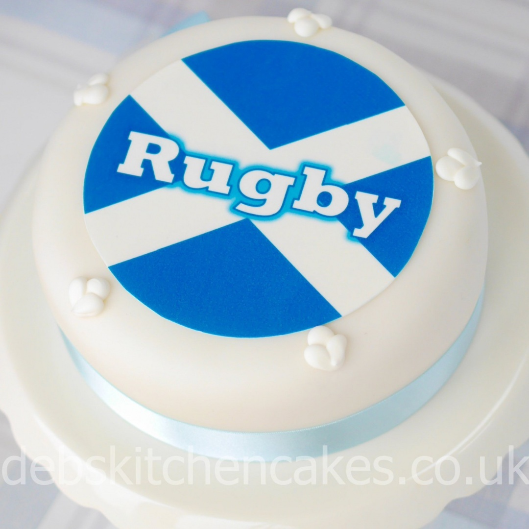 Scotland Rugby Cake Toppers