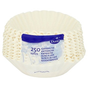 Duni Paper Coffee Filters - 1 x 250 pack