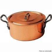 Baumalu - 204012 - Copper Stewpot with lid 22 cm