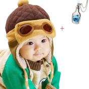 Ukamshop(TM)Boys Winter Warm Cap Hat Beanie Pilot Aviator Crochet Earflap Hats