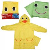 baby rain coat, 2012 new design child rain coat--send randomly