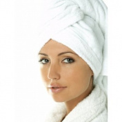 Carenesse Hair Turban Head Towel 100% Cotton / Put On Twist and Fasten