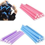 10pcs Curler Makers Soft Foam Bendy Twist Curls Tool DIY Styling Hair Rollers