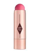 Charlotte Tilbury BEACH STICK Lip To Cheek Dewy Colour Pop Las Salinas Cream Blush Lipstick