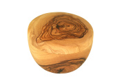 D.O.M. Shaving bowl with lid made of olive wood