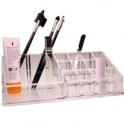 Make Up & Nail Polish Organiser Display Stand Rack Clear Acrylic Makeup Gift by Kurtzy