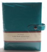 New 2014 Colour Teal Blue - Little Book of Earrings - Earring Storage Solution
