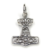 Thor Hammer Pendant 925 Sterling Silver Jewellery, Measure