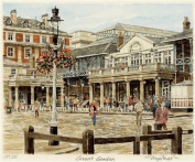 Portrait of Britain, Covent Garden - general view, London & Middlesex, Framed