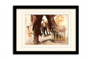 Doctor Who A town Called Mercy A3 Framed and Mounted Print